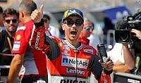 Aragon, Ducati davanti a tutti Pole Lorenzo, poi Dovizioso