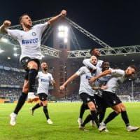 Sampdoria-Inter 0-1: Brozovic all'ultimo respiro stende i blucerchiati