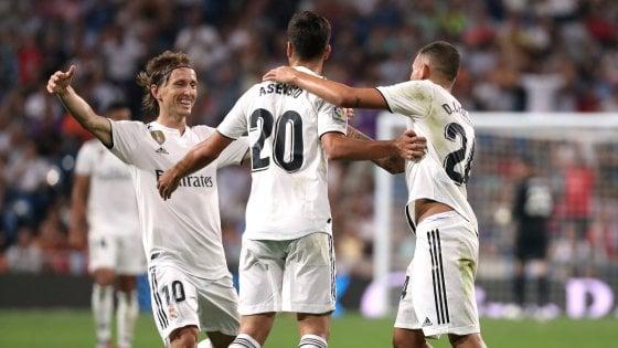 Spagna, il Real Madrid assapora la vetta. Simeone ritrova il sorriso