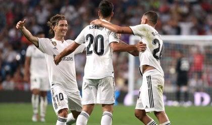 Al Real Madrid basta un gol di Asensio Torna a vincere anche l'Atletico