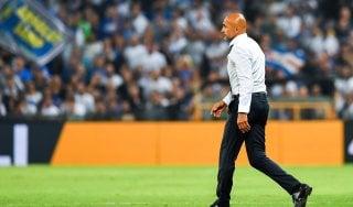 """Inter, Spalletti: """"La mia espulsione? Ho pagato il mio un urlo liberatorio"""""""