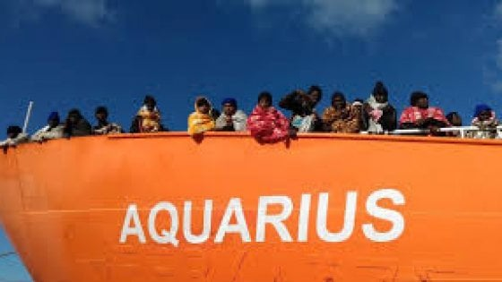 Migranti, Aquarius