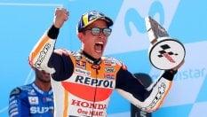 Marquez vince il duello con Dovizioso, mondiale in cassaforte