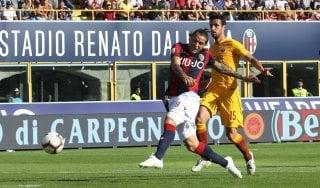 Bologna-Roma 2-0: Mattiello e Santander aprono la crisi dei giallorossi