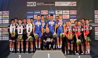 Ciclismo, Mondiali: crono a squadre alla Quick Step