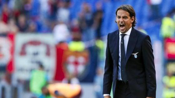 """Lazio, Inzaghi: """"Continuamo a correre"""". Immobile: """"A breve il mio rinnovo"""""""