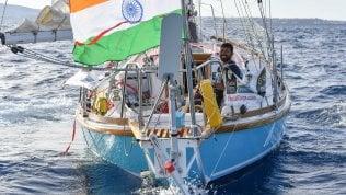 Salvato il velista ferito e disperso. L'annuncio della marina indiana