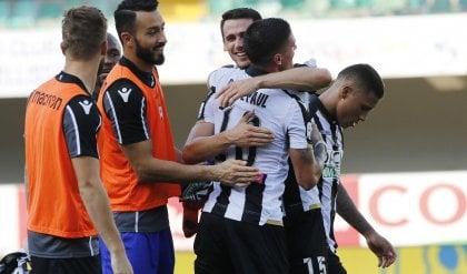 De Paul con una magia, poi Lasagna Udinese fa il colpo col Chievo: 0-2