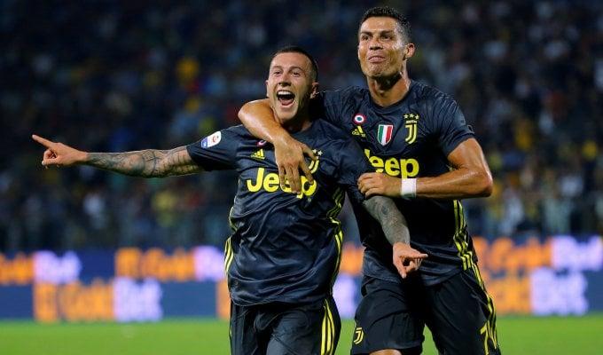 Ci pensa ancora Ronaldo: Frosinone-Juve 0-2