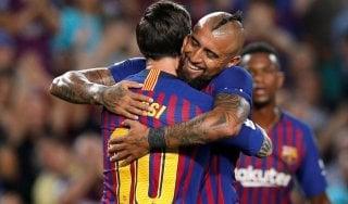Liga: il Girona spaventa il Barcellona, Piquet lo salva