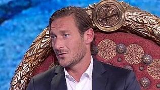 """Ironia Totti su fair play di Cristian: """"Non sei mio figlio, io segnavo"""""""