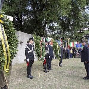 Vandalismo nel memoriale di Cefalonia