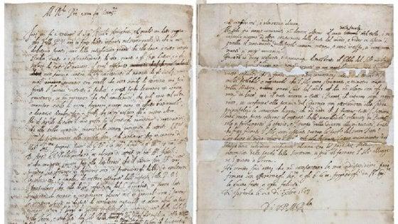 """Londra, ritrovata la lettera """"eretica"""" di Galileo Galilei. """"E' l'originale"""""""