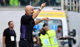 Fiorentina, Pioli: ''Siamo una squadra seria che può crescere tanto''