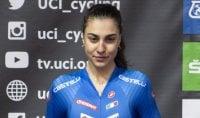 Camilla Alessio argento  nella crono juniores donne