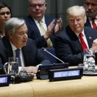 Iran e Corea, Trump porta all'Onu le sue battaglie