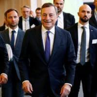 """Draghi: """"Politiche fiscali meno neutrali in alcuni Paesi"""""""