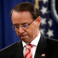 Usa, Rosenstein alla  Casa Bianca, ma non si è dimesso