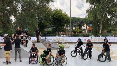Sempre meno barriere nelle nostre città a Roma il primo skatepark aperto a tutti