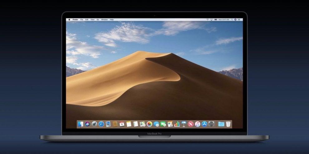 Apple, i mac cambiamo volto grazie a MacOS Mojave