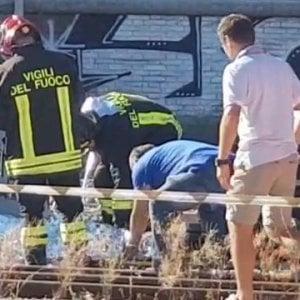 Belluno, esplosione vicino alla stazione: feriti tre operai