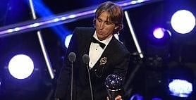Fifa Awards: trionfa Modric  Deschamps miglior tecnico