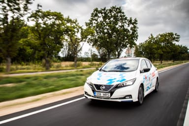 Electric Marathon 2018, Nissan Leaf c'è