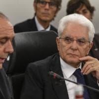 """Mattarella al Csm: """"Magistrati non rispondono a opinioni correnti ma solo alla legge"""""""