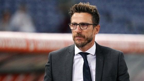 """Roma, Di Francesco: """"Io ho bisogno dei giocatori e loro di me"""""""