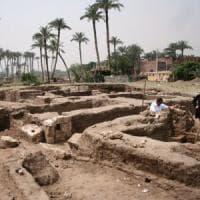 Scoperto un imponente complesso con terme romane a sud del Cairo