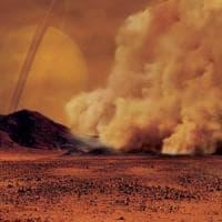 Tempesta su Titano: le immagini di Cassini