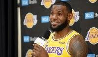 "Lakers, inizia l'era LeBron ""Ma Warriors ancora lontani"""