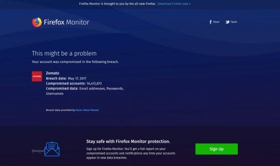 Con Firefox Monitor ora puoi sapere se i tuoi dati personali sono stati rubati