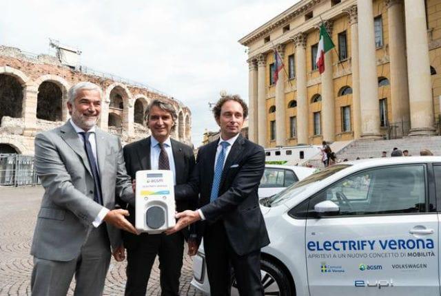 """""""Electrify Verona"""", al via il progetto per la e-mobility"""