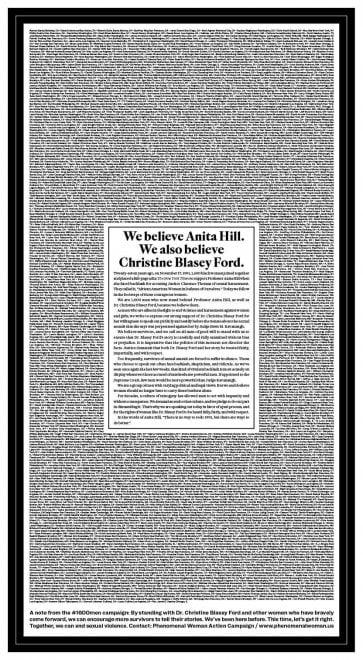 1600 uomini contro Kavanaugh: l'appello sul NYT come quello per Anita Hill
