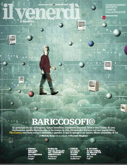 """Gioco, partita, incontro: Baricco racconta il suo """"The Game"""""""