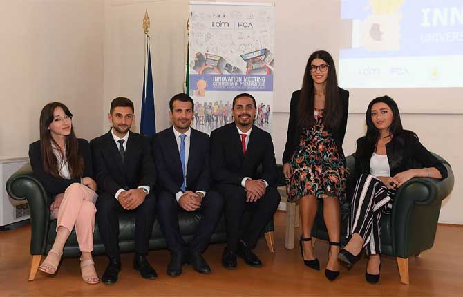 Fca Innovation Meeting, largo ai giovani