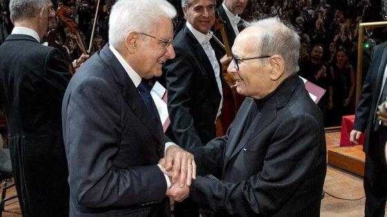 'Mill'Ennio', i 90 anni di Ennio Morricone in un concerto speciale: sul palco anche il presidente Mattarella
