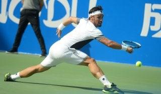 Tennis, Atp Chengdu: battuto Ebden, Fognini è in semifinale