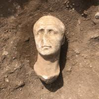 Aquinum, trovate tre teste marmoree di epoca romana