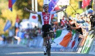 Ciclismo, Mondiale: Hirschi oro tra gli under 23, azzurri non pervenuti