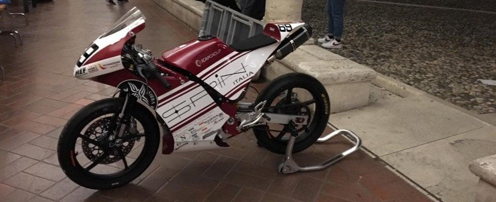 Biga, la moto degli studenti pronta per la pista