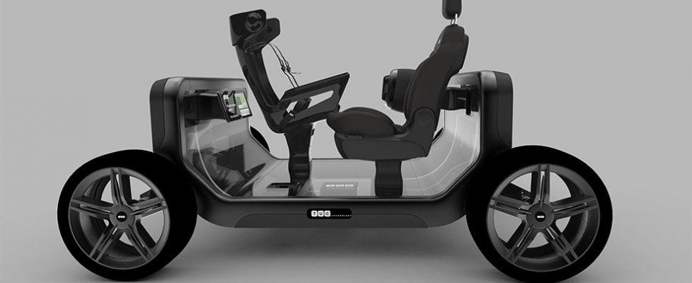 """Idea Tuc, l'auto diventa una piattaforma da """"arredare"""""""