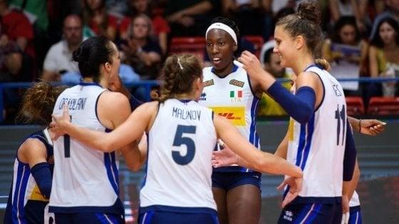 Volley donne, parte il Mondiale. Mazzanti: ''Viviamo il nostro sogno''