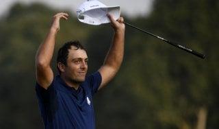 Golf, Ryder Cup: Molinari-show porta due punti e batte Woods. Europei avanti