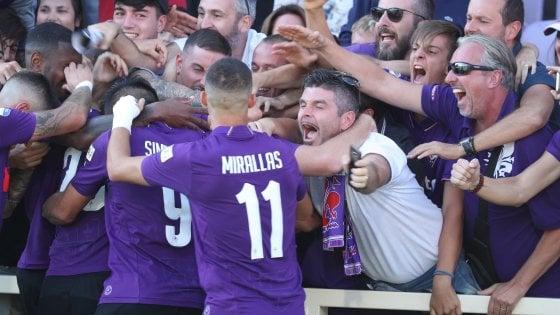 Fiorentina-Atalanta 2-0: Veretout e Biraghi spingono i viola al terzo posto