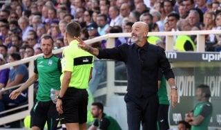 """Fiorentina, Pioli: """"Vittoria importantissima anche giocando male"""""""