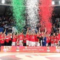 Basket, Supercoppa: Milano fa subito festa, Torino cede 82-71