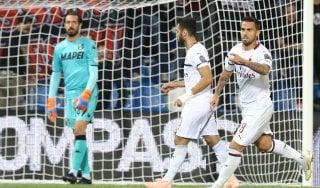 Sassuolo-Milan 1-4: si sblocca Suso, Gattuso può respirare