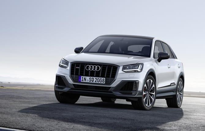 Nuova Audi SQ2, il Suv che va di fretta
